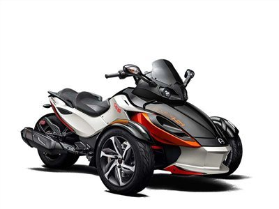 2015 Can-Am Spyder RS-S SM5, motorcycle listing