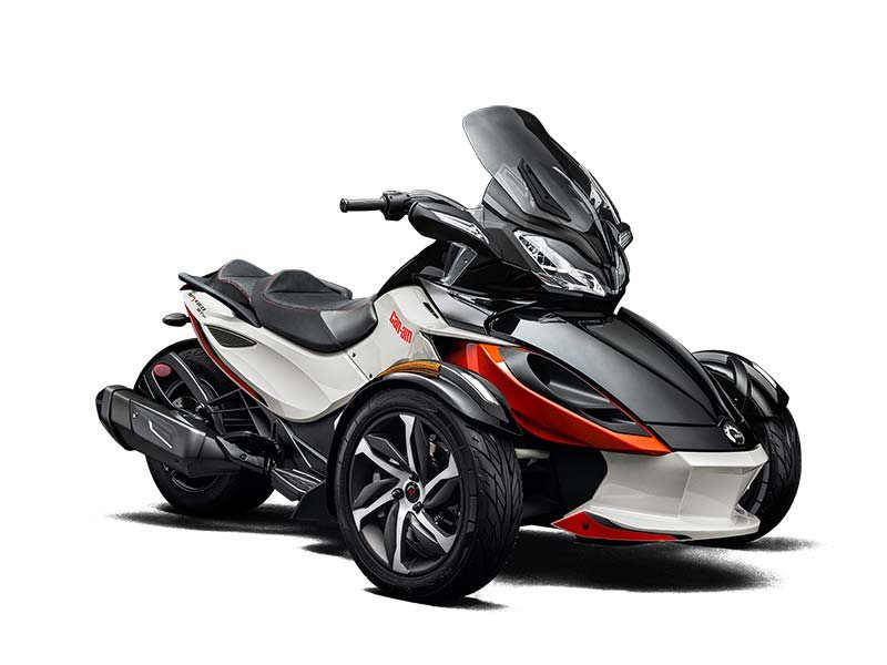 2015 Can-Am Spyder ST-S SE5, motorcycle listing
