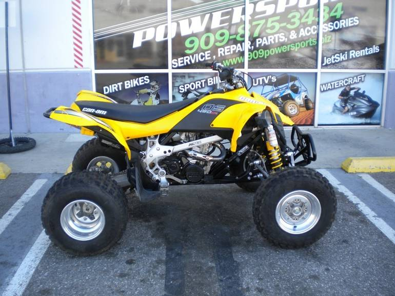 2008 Can Am  DS 450X, motorcycle listing