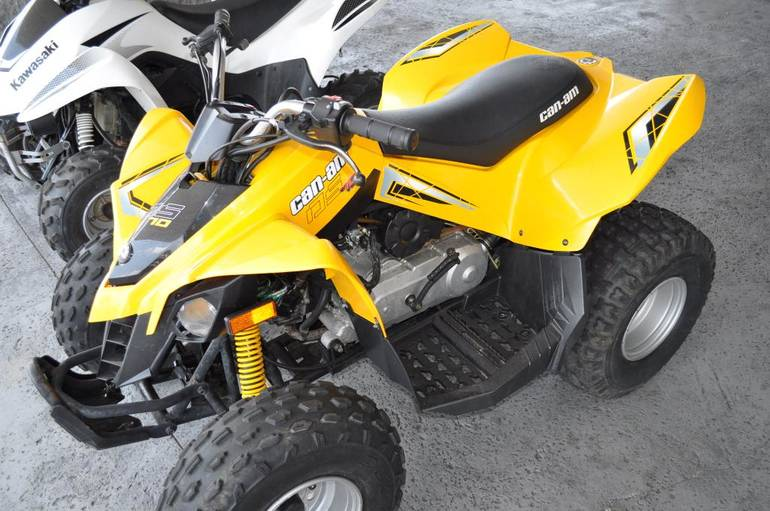 2008 Can-Am DS 70, motorcycle listing
