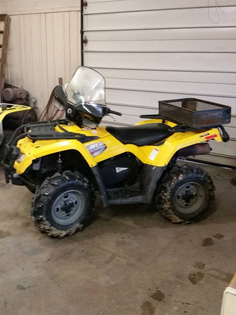 2008 Can-Am Outlander 400, motorcycle listing