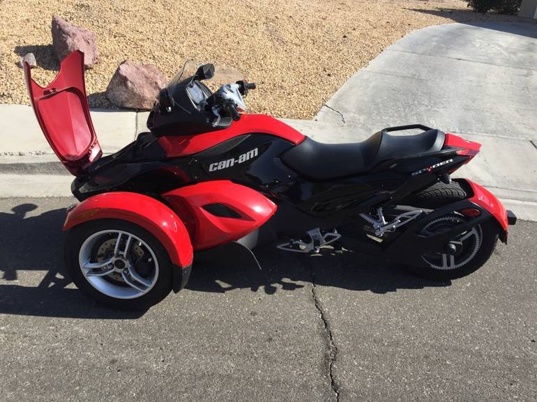 spyder gs sm trike motorcycle  fort irwin catoday sale