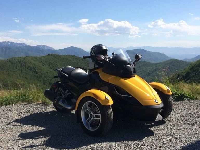 2008 can am spyder gs sm5 trike motorcycle from ogdeb ut today sale 8 900. Black Bedroom Furniture Sets. Home Design Ideas