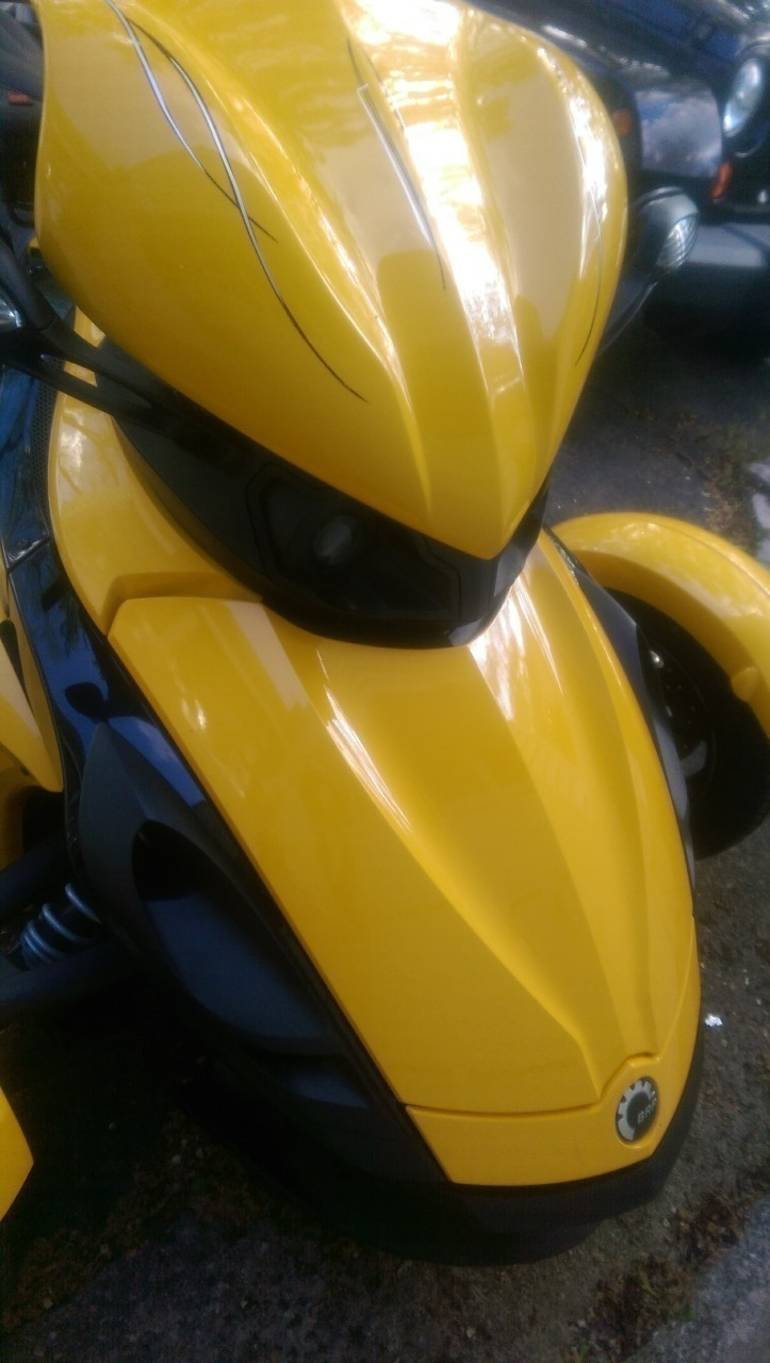 2008 Can-Am Spyder RS SE5, motorcycle listing