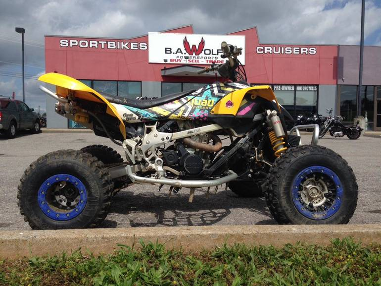 2009 Can-Am DS 450 XMX, motorcycle listing