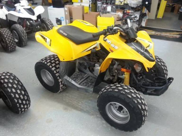 2009 Can-Am DS 70, motorcycle listing