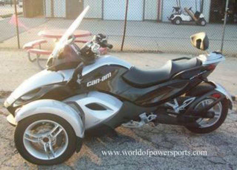 2009 Can Am GS SM5, motorcycle listing