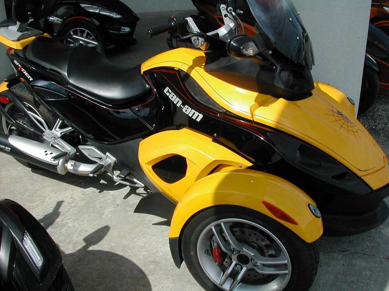 2009 Can-Am GS, motorcycle listing