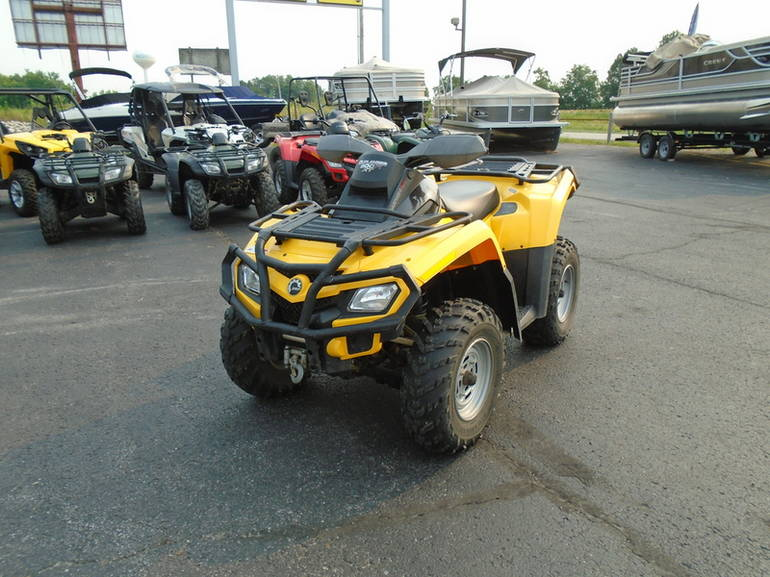 2009 Can-Am Outlander 800R EFI XT, motorcycle listing