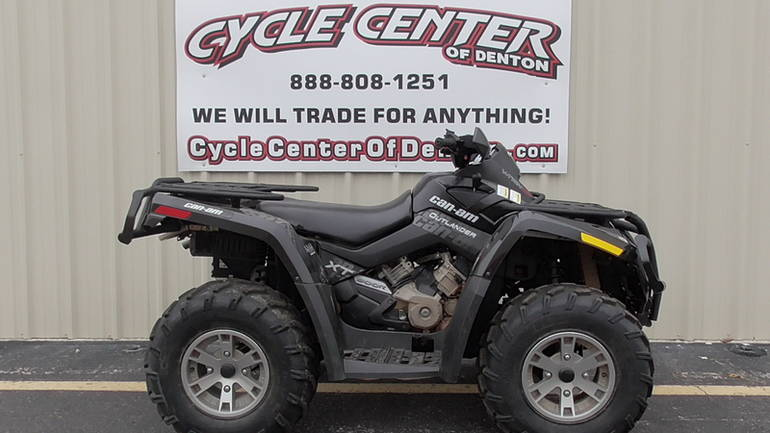 2009 Can-Am Outlander MAX 800R EFI, motorcycle listing