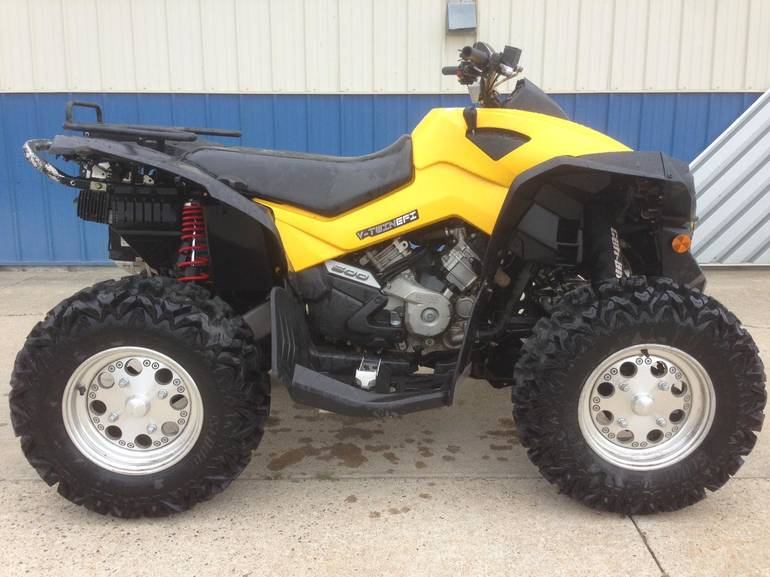2009 Can-Am RENEGADE 4X4 500EFI, motorcycle listing