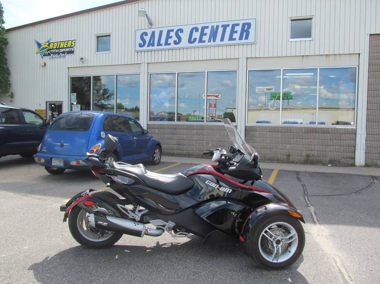 2009 Can-Am SPYDER GS SE5, motorcycle listing