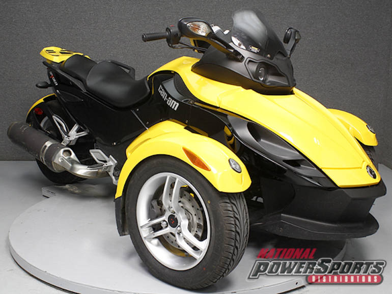 2009 Can Am SPYDER GS SE5, motorcycle listing