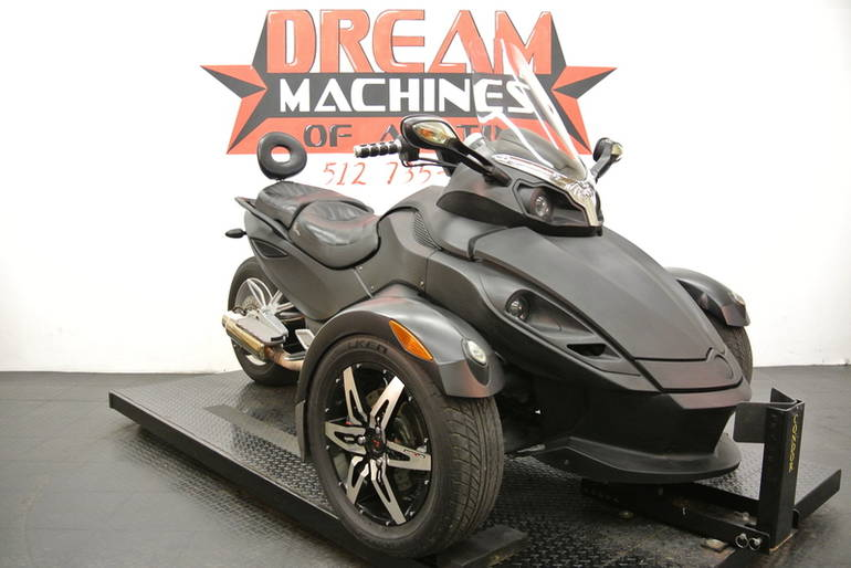 2009 Can-Am Spyder GS Phantom Black Limited Edition , motorcycle listing