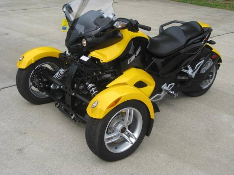 2009 Can-Am  Spyder RS , motorcycle listing