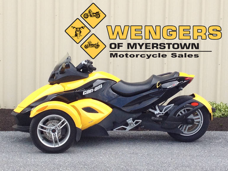 2009 Can Am Spyder RS SE5, motorcycle listing