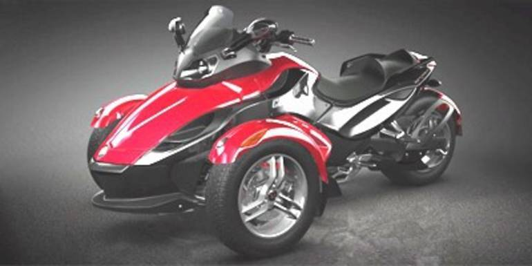 2009 Can-Am Spyder Roadster SE5, motorcycle listing