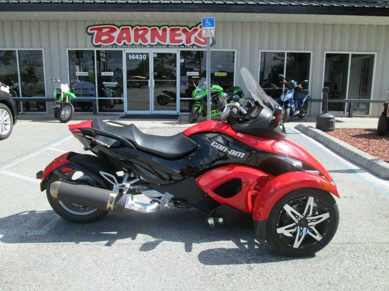 2009 Can-Am Spyder  SE5, motorcycle listing