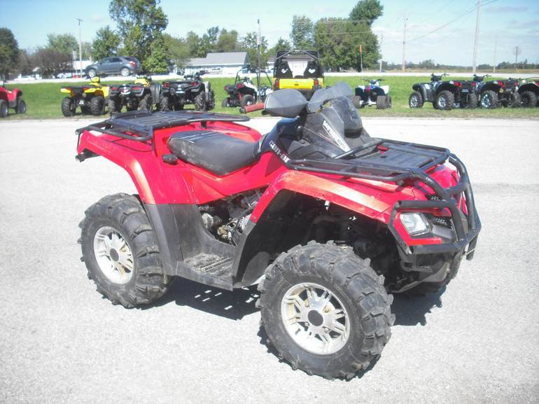 2010 Can-Am Outlander 800 XT, motorcycle listing