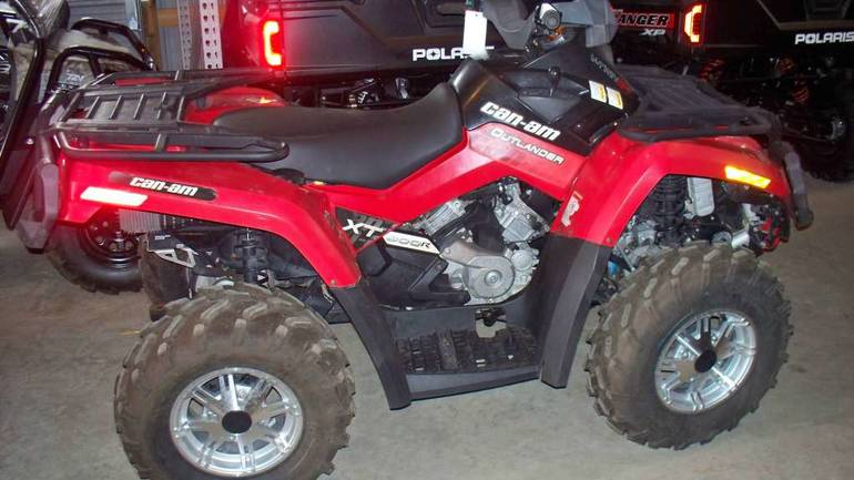2010 Can-Am Outlander 800R EFI XT, motorcycle listing