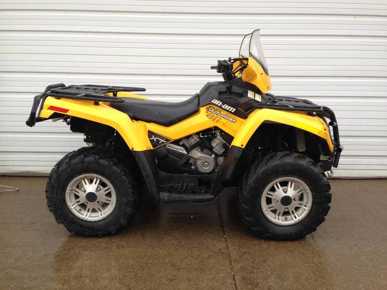 2010 Can-Am Outlander 800R EFI XT w/EPS, motorcycle listing