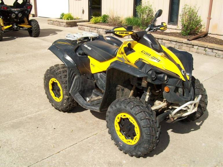 2010 Can-Am Renegade 800R EFI X xc, motorcycle listing