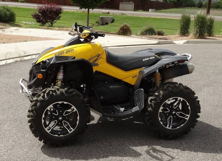 2010 Can-Am Renegade X XC 800R, motorcycle listing
