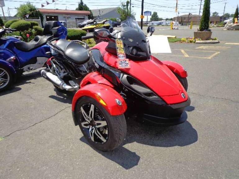 2010 Can-Am Spyder RS SE5, motorcycle listing