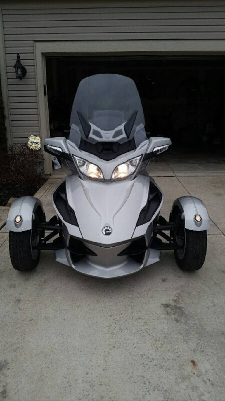 2010 Can-Am Spyder RT LIMITED, motorcycle listing