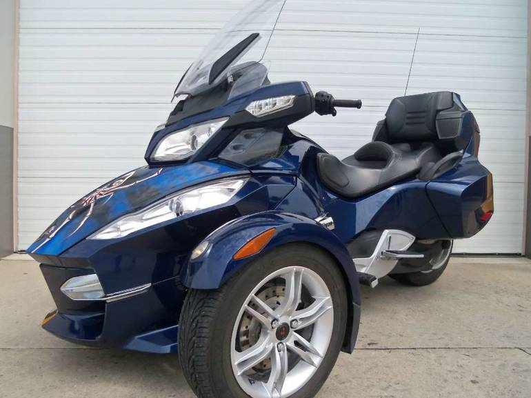2010 Can-Am Spyder RT-S SE5, motorcycle listing