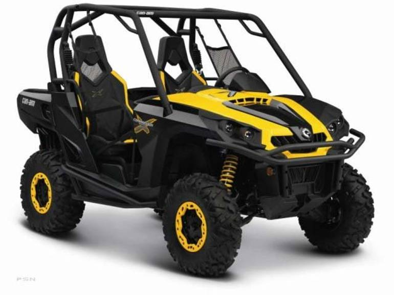 2011 Can-Am Commander 1000 X, motorcycle listing