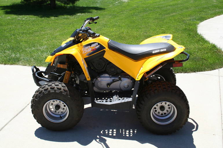 2011 Can-Am Ds 70, motorcycle listing