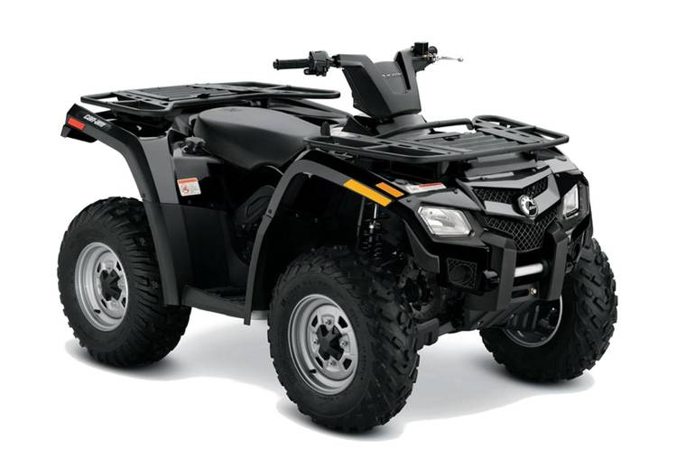 2011 Can-Am OUTLANDER 4X 400HOEF, motorcycle listing