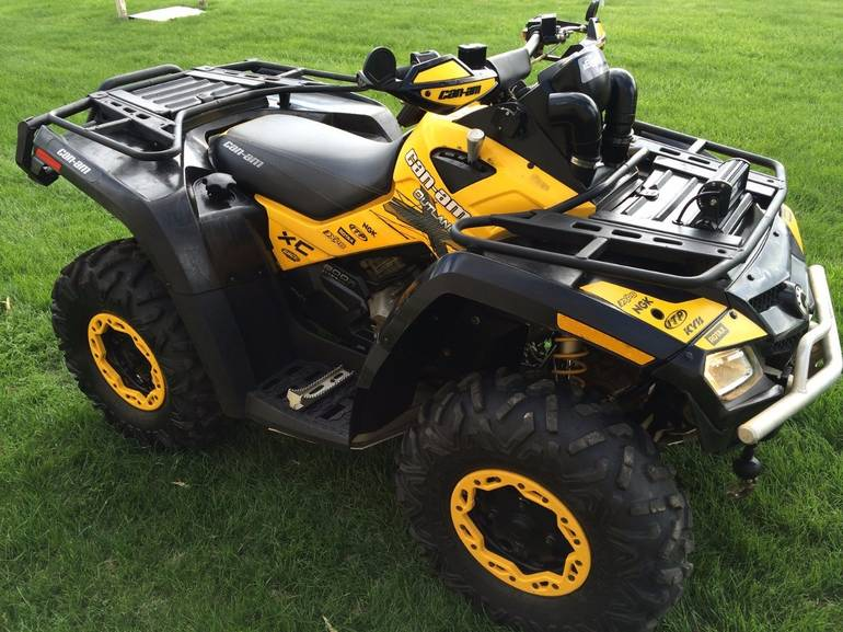 2011 Can-Am OUTLANDER X XC 800R EFI, motorcycle listing