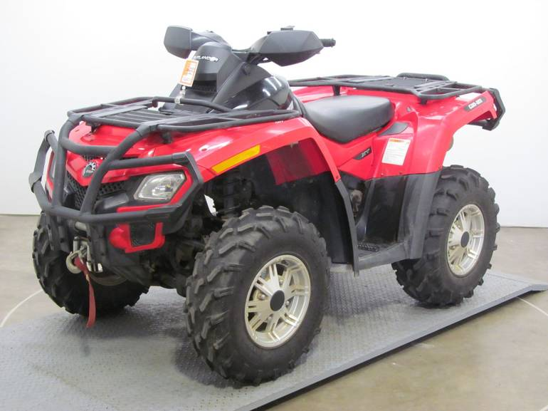2011 Can-Am OUTLANDER XT 650EFI, motorcycle listing