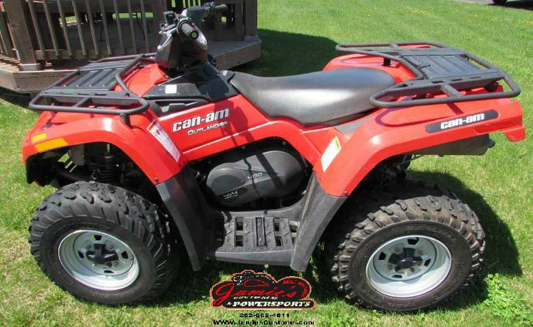 2011 Can-Am Outlander 400 EFI, motorcycle listing