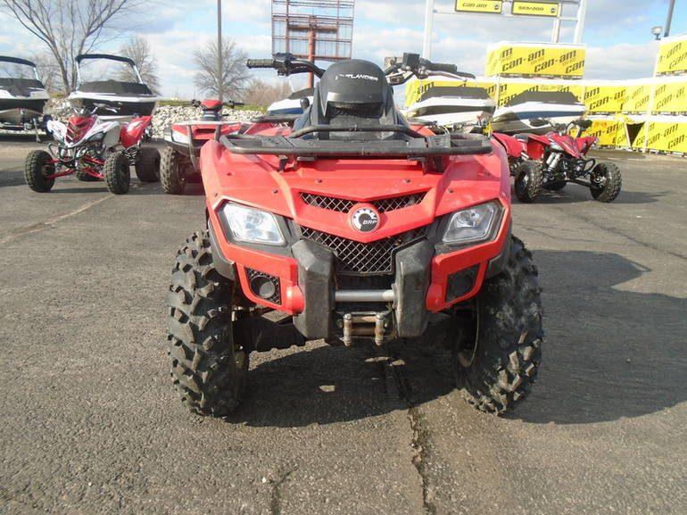 2011 Can-Am Outlander 500, motorcycle listing
