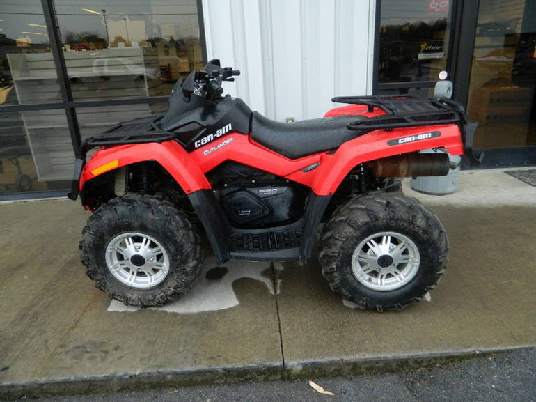 2011 Can-Am Outlander 650 EFI XT, motorcycle listing