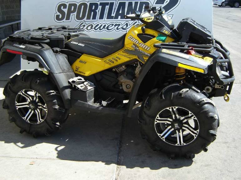 2011 Can-Am Outlander 800R EFI X mr, motorcycle listing