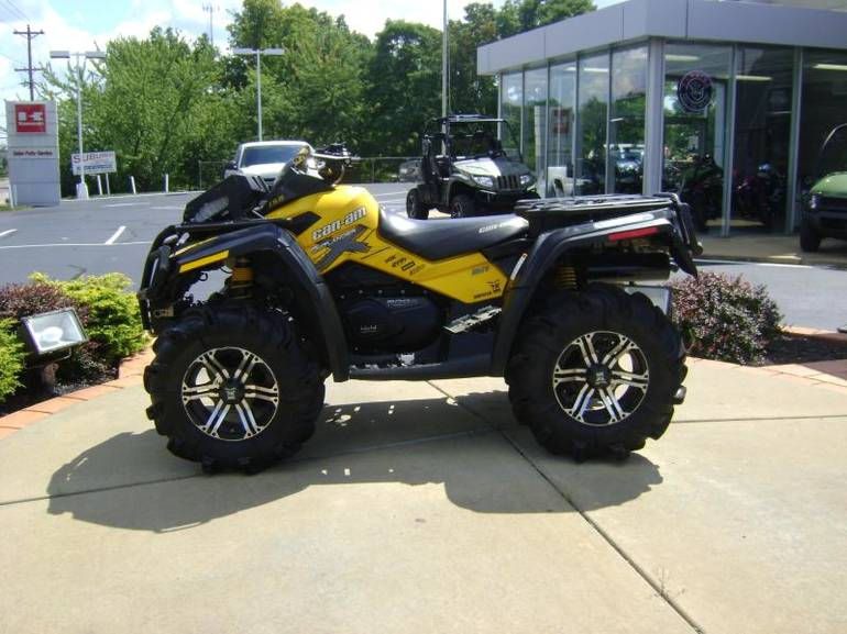 2011 Can-Am Outlander 800R X MR, motorcycle listing