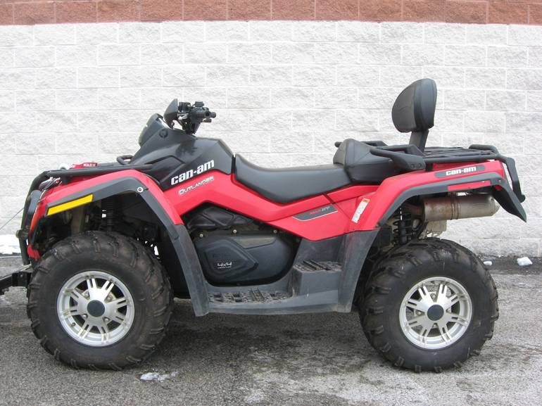 2011 Can-Am Outlander  MAX 650 XT, motorcycle listing
