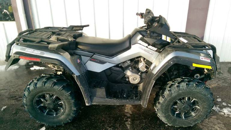 2011 Can-Am Outlander MAX 800R EFI XT-P, motorcycle listing