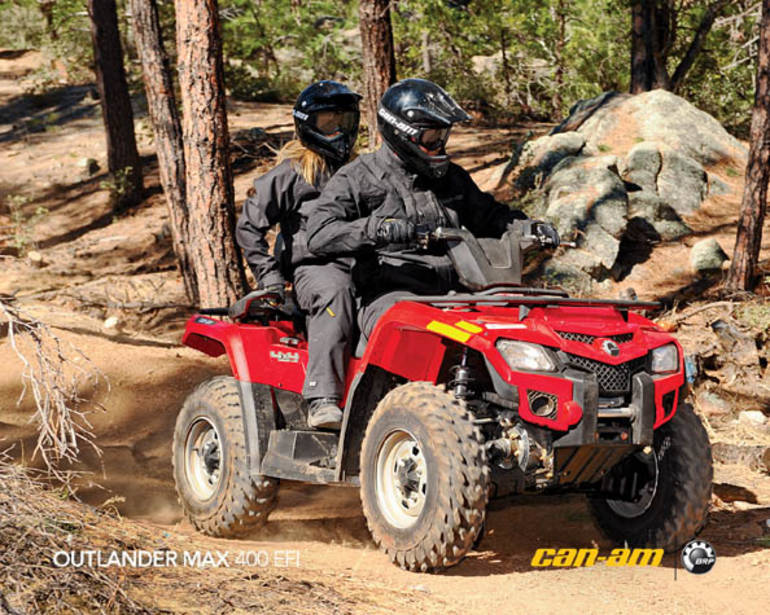 2011 Can-Am Outlander Max 400, motorcycle listing