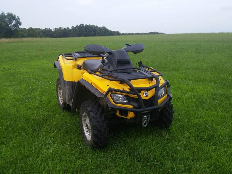 2011 Can-Am Outlander XT 800R EFI, motorcycle listing