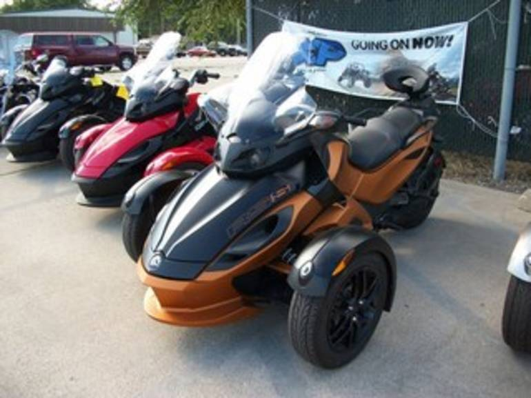 2011 Can Am RS-S SE5, motorcycle listing
