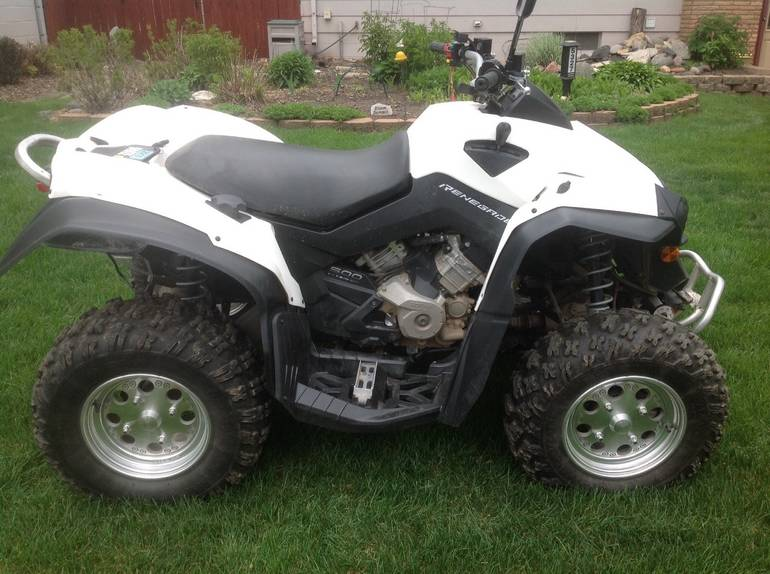 2011 Can-Am Renegade 500, motorcycle listing