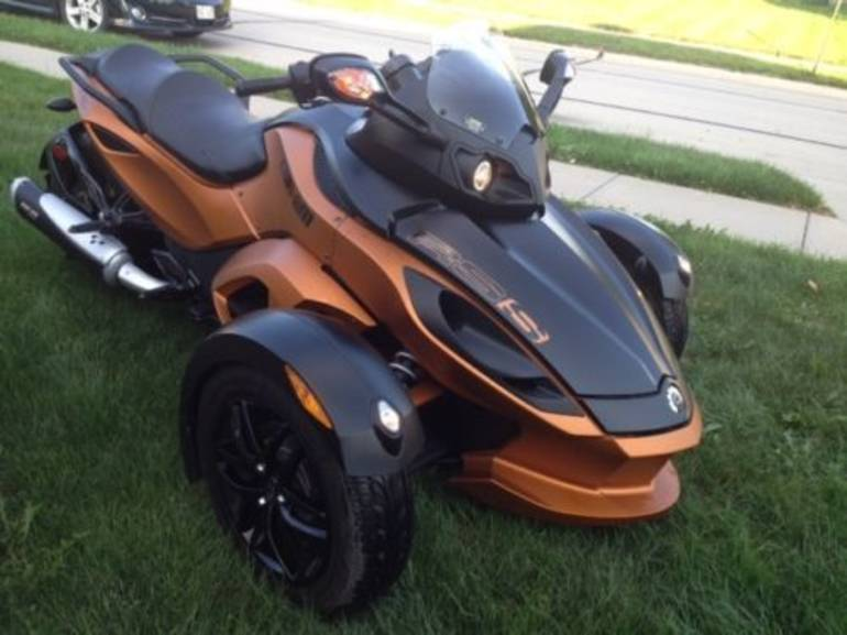 2011 Can-Am Spyder RS-S SE5, motorcycle listing