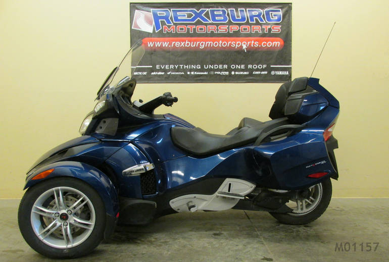 2011 Can-Am Spyder RT Audio & Convenience SE5, motorcycle listing