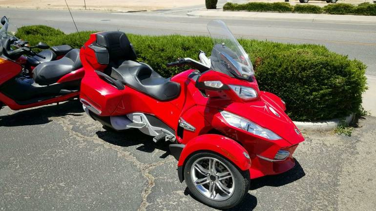 2011 Can-Am Spyder RT-S SE5, motorcycle listing