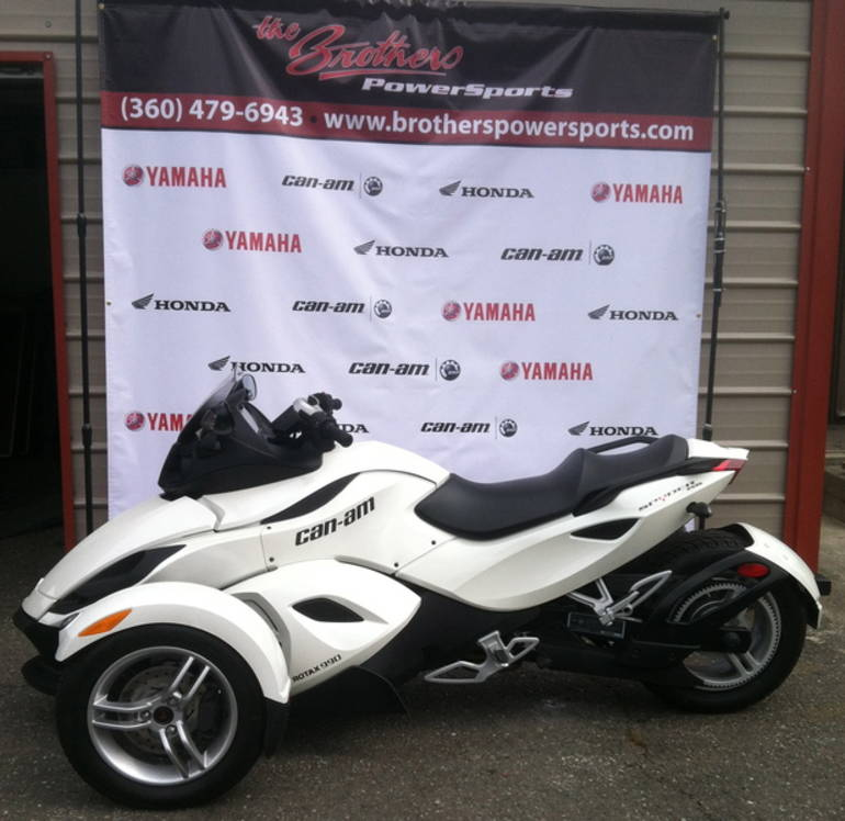 2011 Can-Am Spyder Roadster RS, motorcycle listing